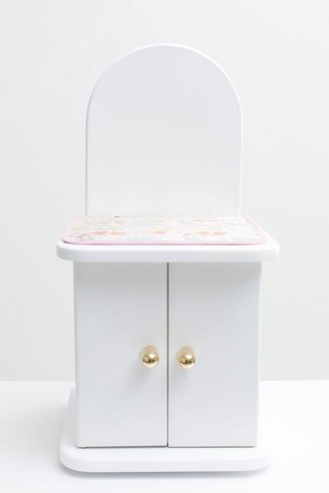スリーピーホワイト 仏具4点・敷物付(ブルー・ピンク)